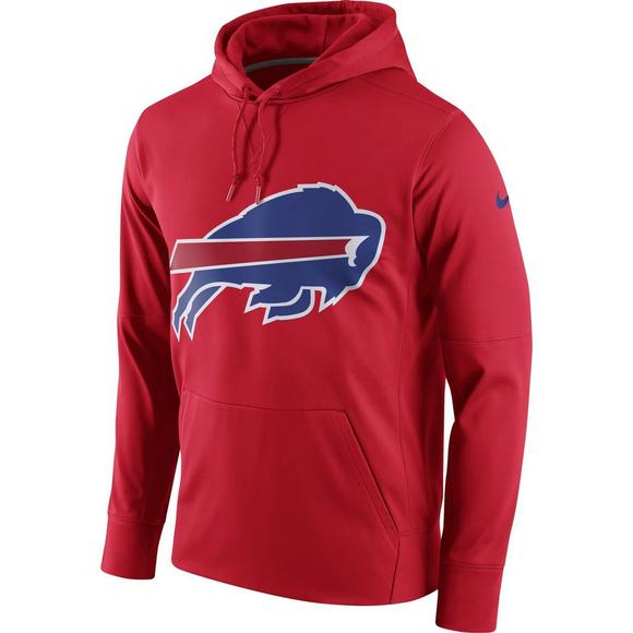 new arrival 31299 a9087 Nike Men's Buffalo Bills Performance Circle Logo Essential Hoodie