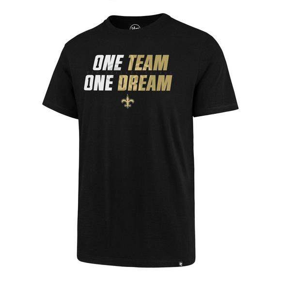 2cb528a9 47 Men's New Orleans Saints One Team One Dream Short Sleeve Tee ...
