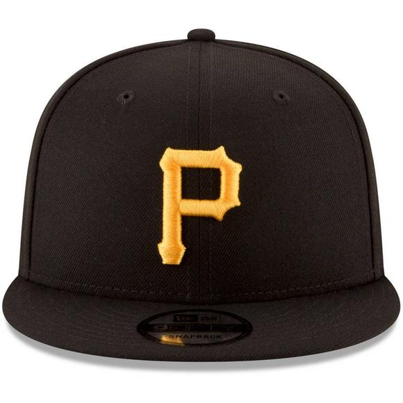 the latest 64b78 c093e New Era Pittsburgh Pirates Basic 9FIFTY Snapback Hat - Main Container Image  2