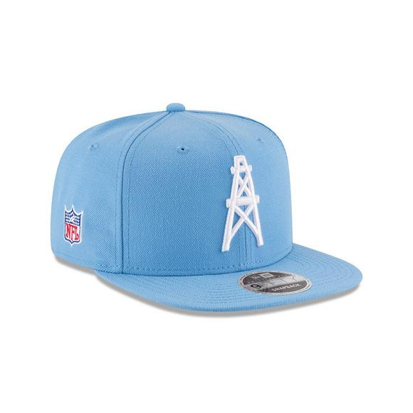 a6f320d81c124f New Era Houston Oilers Wool Retro Crown 9FIFTY Cap - Main Container Image 2