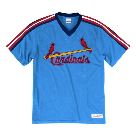 brand new afec2 0377d Mitchell & Ness Men's St. Louis Cardinals Overtime Win Vintage Tee
