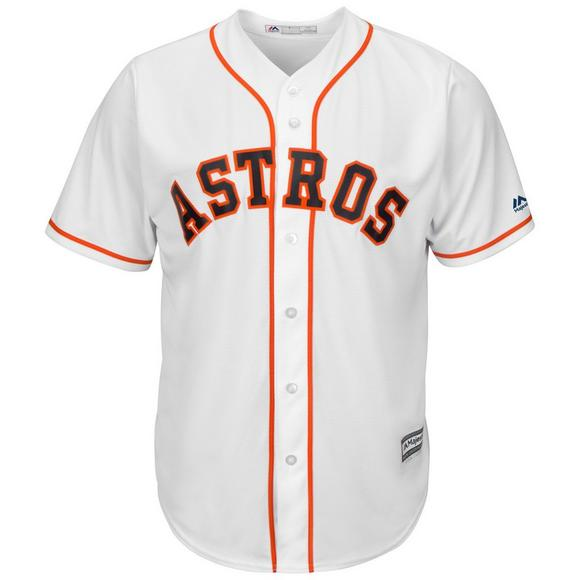quality design 13be6 d5f13 Majestic Men's Houston Astros Alex Bregman Cool Base White Jersey