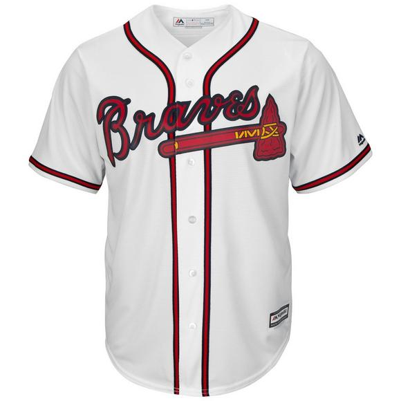 watch 6239b 4b96b Majestic Men's Atlanta Braves Freddie Freeman Cool Base White Jersey