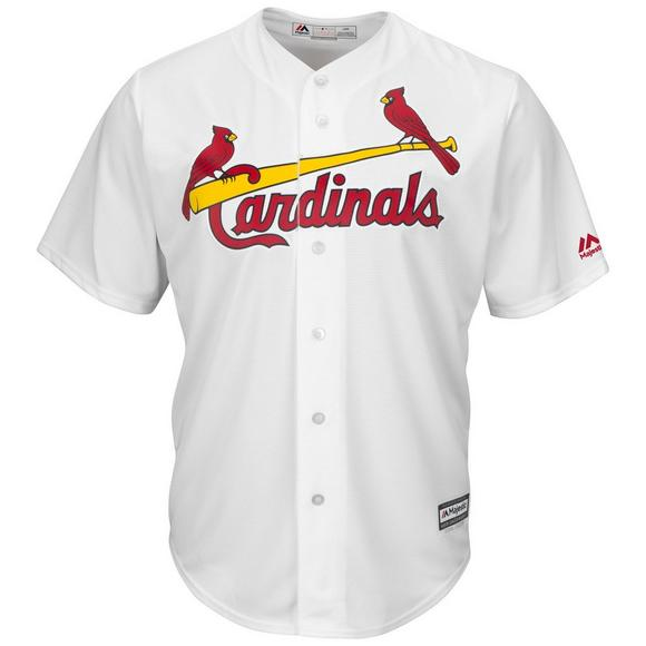 wholesale dealer d2499 85911 Majestic Men's St. Louis Cardinals Paul Goldschmidt Cool Base White Jersey