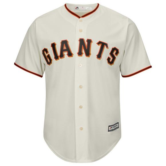 outlet store e846b fda5c Majestic Men's San Francisco Giants Buster Posey Cool Base White Jersey