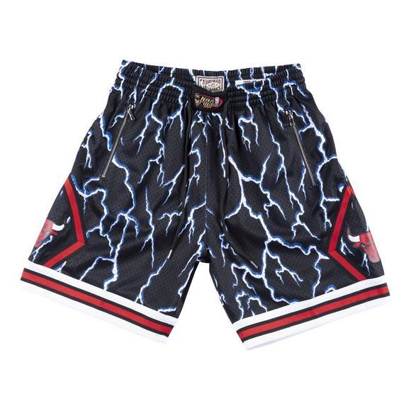 84ad91ad Mitchell & Ness Men's Chicago Bulls Lightning Shorts