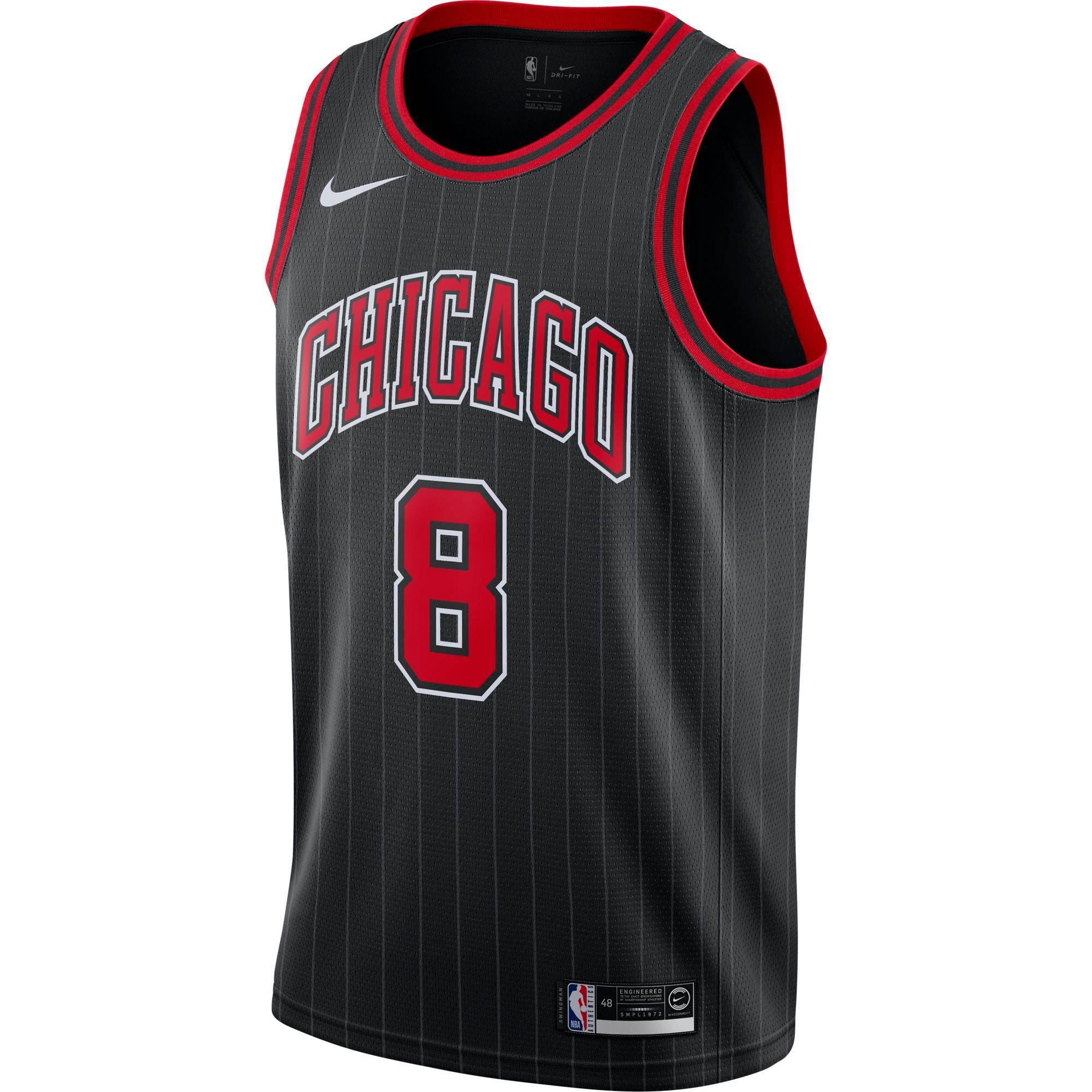 Asesinar arbusto Prima  Nike Men's Chicago Bulls Zach LaVine Statement Swingman Jersey - Hibbett    City Gear