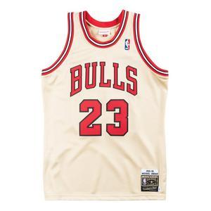 bec2b641f2d5e Mitchell & Ness Men's Chicago Bulls Michael Jordan Gold ...
