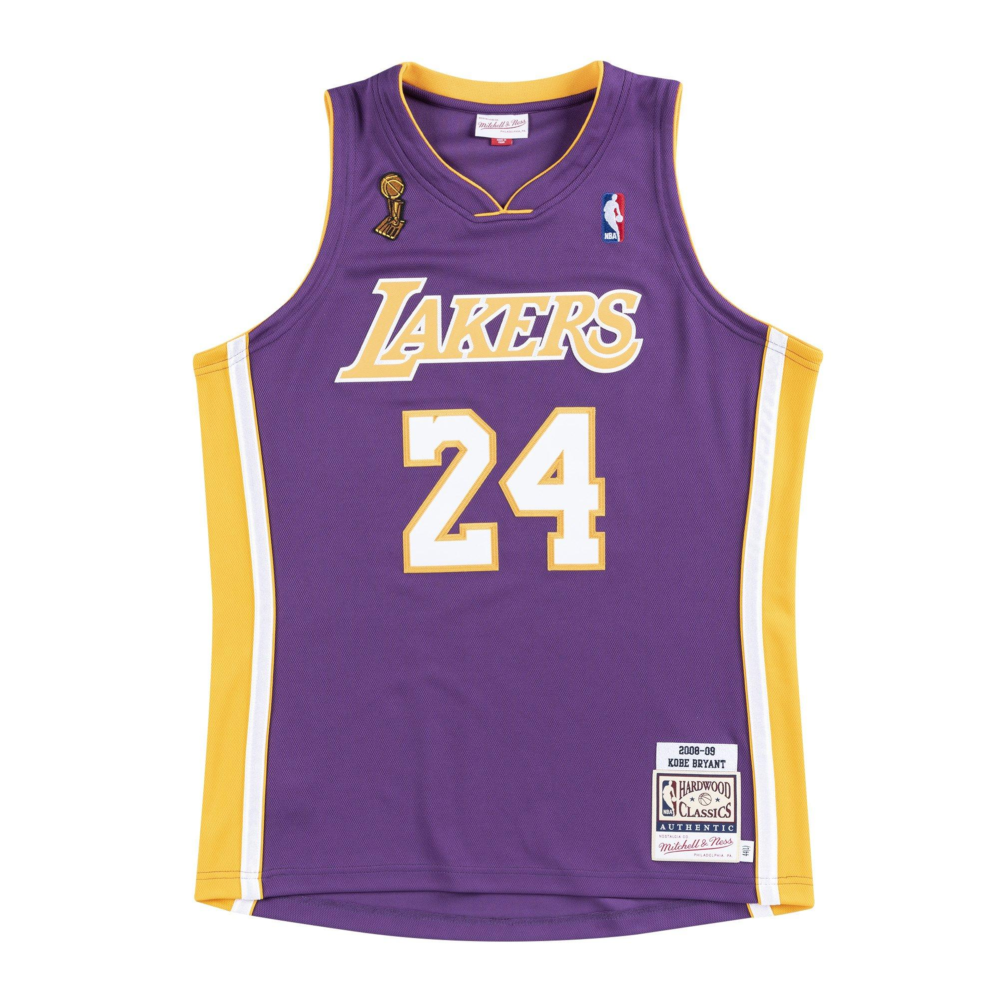 lakers hardwood classic jersey
