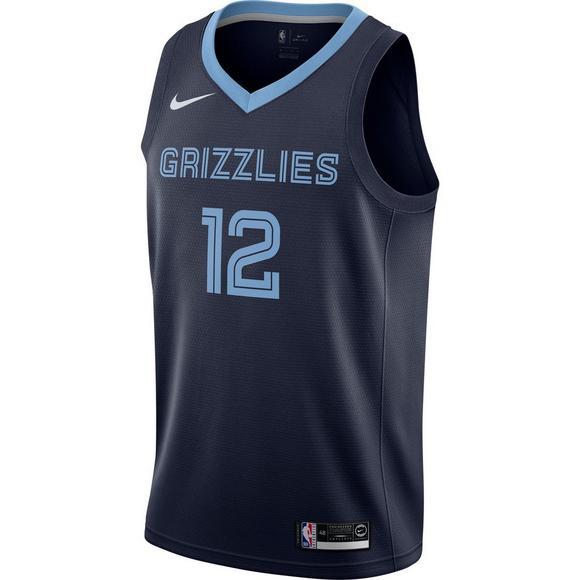 detailed look 14cbc ff6df Nike Men's Ja Morant Memphis Grizzlies Swingman Road Jersey