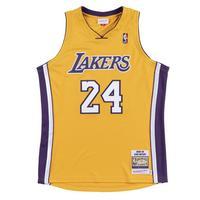 Mitchell Ness Men S Los Angeles Lakers Kobe Bryant 08 09 Hardwood Classics Authentic Gold Jersey Hibbett City Gear