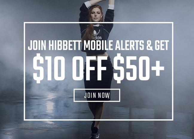 d8d74ea6f8 Sign Up For Hibbett Mobile Alerts