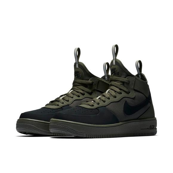 beadc9628 ... new zealand nike air force 1 ultraforce mid tech black green mens shoe  main 29e1b 8eb17
