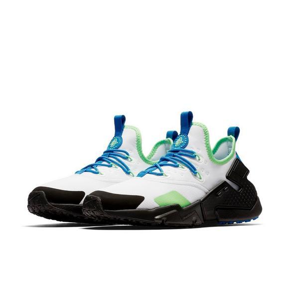 42492951c8d8 Nike Air Huarache Drift White Black Green Men s Shoe - Main Container Image  8