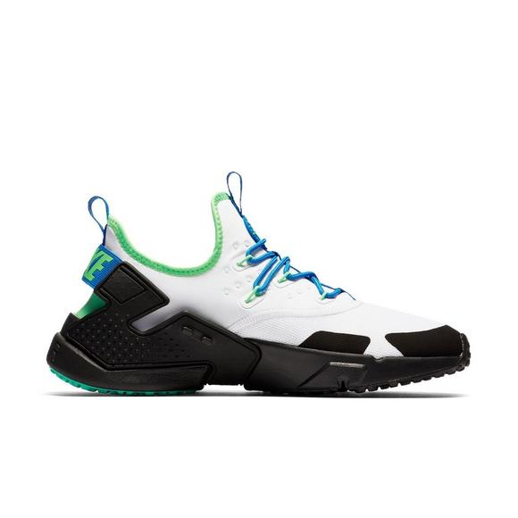 pretty nice b5c91 05c87 Nike Air Huarache Drift White Black Green Men s Shoe - Main Container Image  2