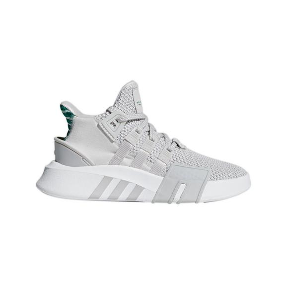 cheap for discount 229f0 8dab5 ... official adidas eqt bask adv grey sub green mens shoe main container  image b499b 98076