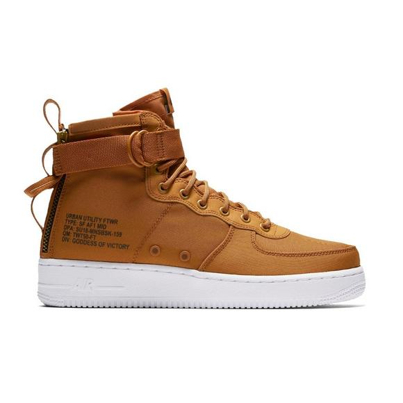 Available now Nike SF Af1 Mid Desert Ochre HOUSE OF