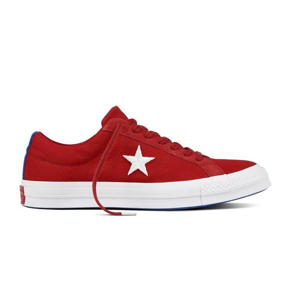 cb3ef2409ff Converse One Star Country Pride Low Top Men s Shoe Red - Main Container  Image 1