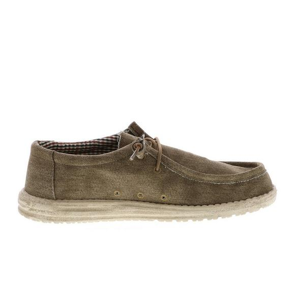 Hey Dude Wally Canvas Men s Shoe - Main Container Image 1 e309489589