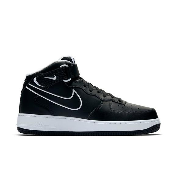 nike air force 1 mens white and black