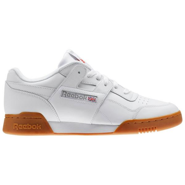 brand new b7178 fa1b4 Display product reviews for Reebok Workout Plus -White Brown- Men s Shoes