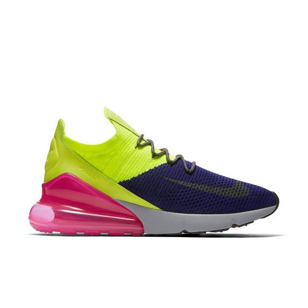 newest 8e4a3 5fdde Display product reviews for Nike Air Max 270 Flyknit -Yellow Purple- Men s  Shoe