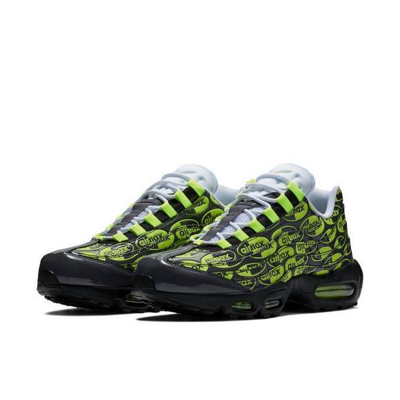 Nike Air Max 95 Premium VoltBlack Men's Shoe Hibbett