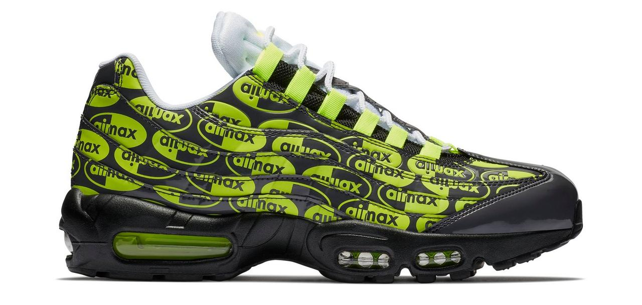 huge selection of 056d4 93c7f ebay nike air max 95 premium black volt at hibbett sports 5f492 4ab77