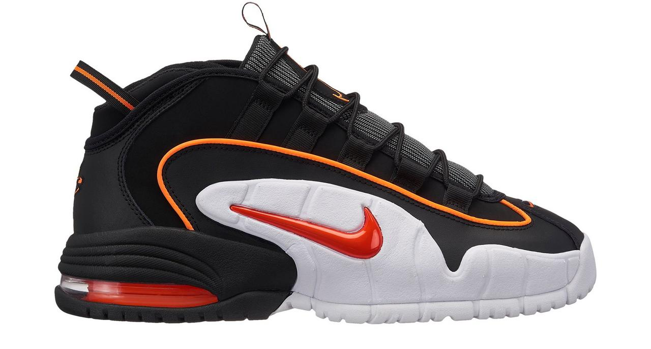 f54d3918d95 Nike Air Max Penny Men s Basketball Shoes at Hibbett Sports