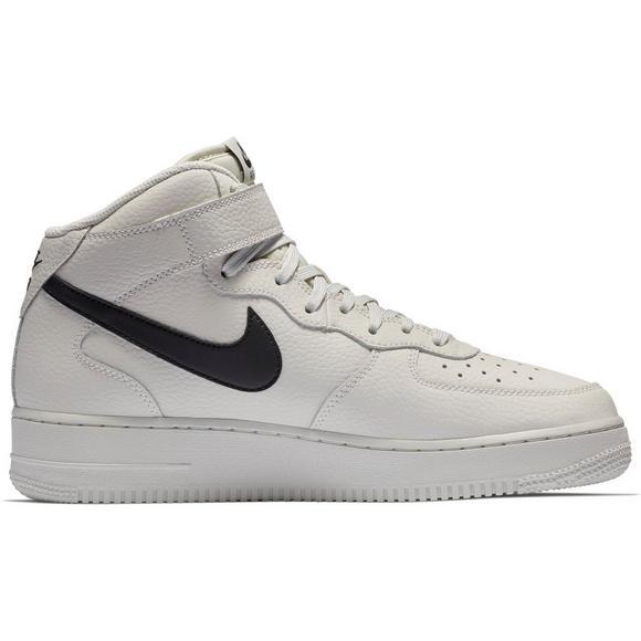Nike Air Force 1 Mid 07 Blanco Hibbett  Negro Hombres Zapato Hibbett Blanco Nosotros 62fdb3