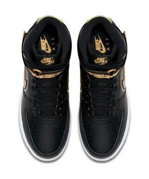 Nike Air Force 1 High 07 Lv8 Sport Black Gold Men S Shoe