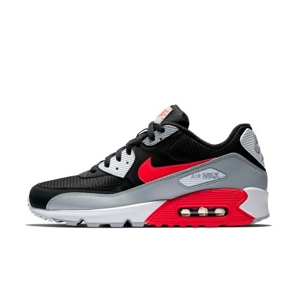 Men's Nike Air Max 90 Essential Casual Shoes Wolf GreyRed