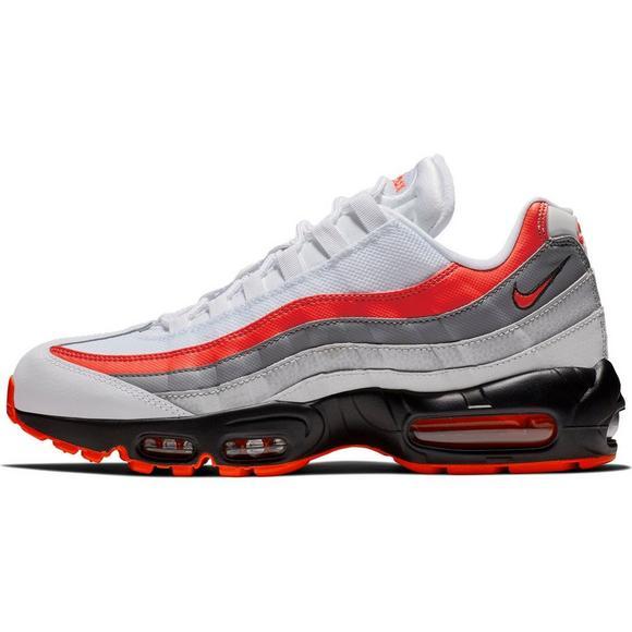 uk air max 95 red grey original ab676 8e7fa