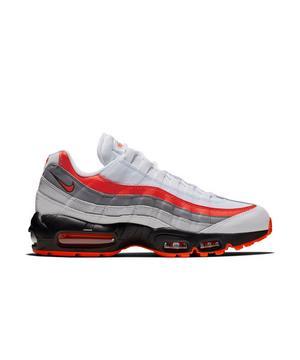 Nike Air Max 95 Essential Grey White Red Men S Shoe Hibbett