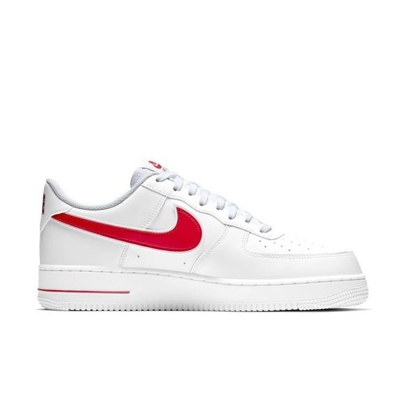 Red 1 '07 3 Nike Force Air Whitegym Men's Shoe OXZiPku
