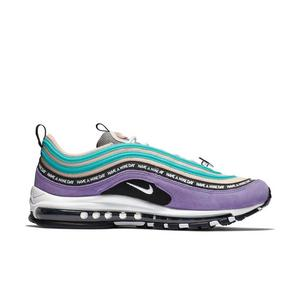 big sale a0690 b91c0 Blue-Purple-White Nike Air Max Shoes