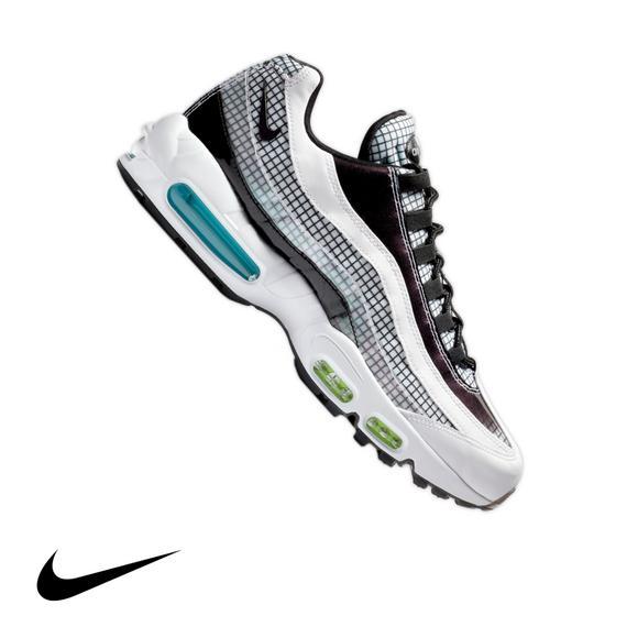 fd34f546eae59 top quality nike air max 95 lv8 white black blue gaze mens shoe dcf31 f26b7