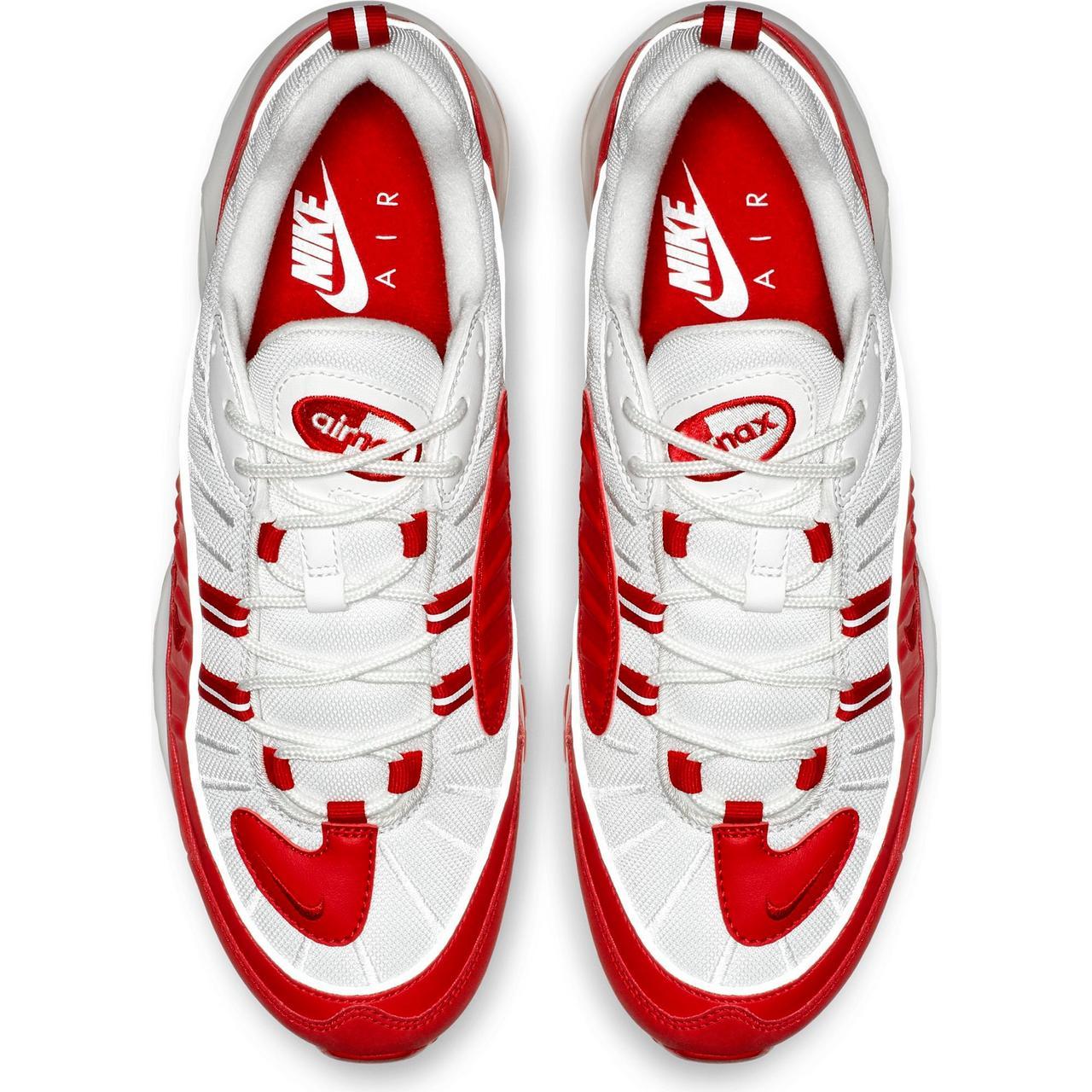 "big sale 415d7 51a70 Sneaker Release: Nike Air Max 98 ""Red/White"" Men's Shoe"