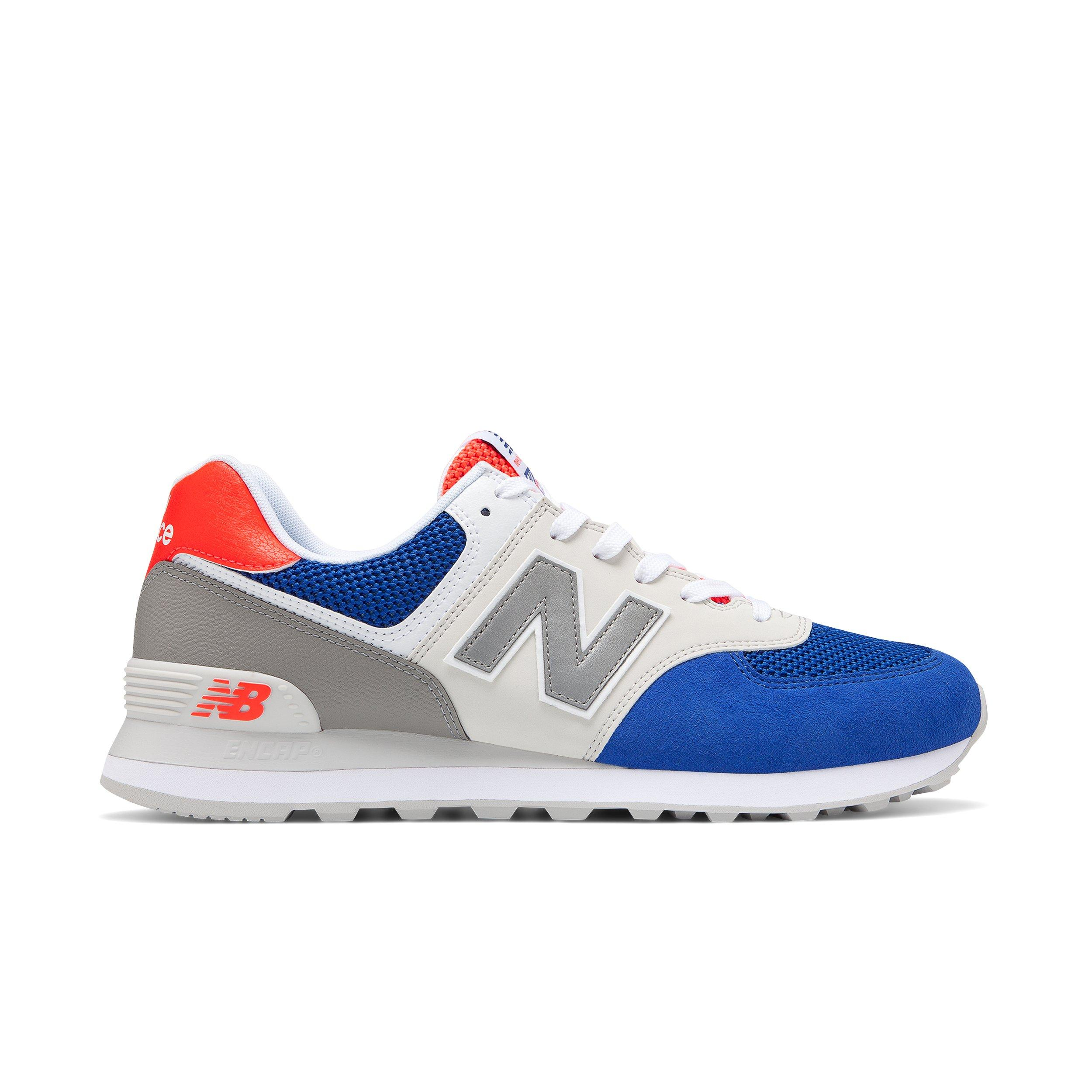 red white blue new balance 574
