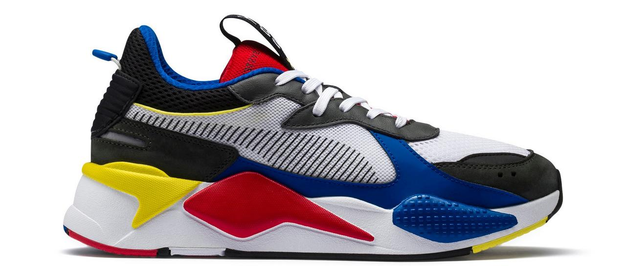 "17b25d04344b Sneaker Release  PUMA RS-X Toys ""White Red Blue"" Running Shoe"