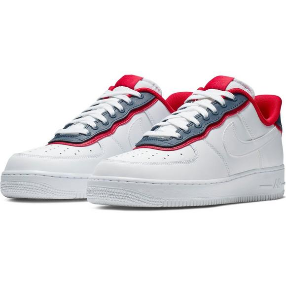 air force 1 lv8 red white