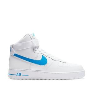 Nike Air Force 1 High White Photo Blue Men S Shoes Hibbett