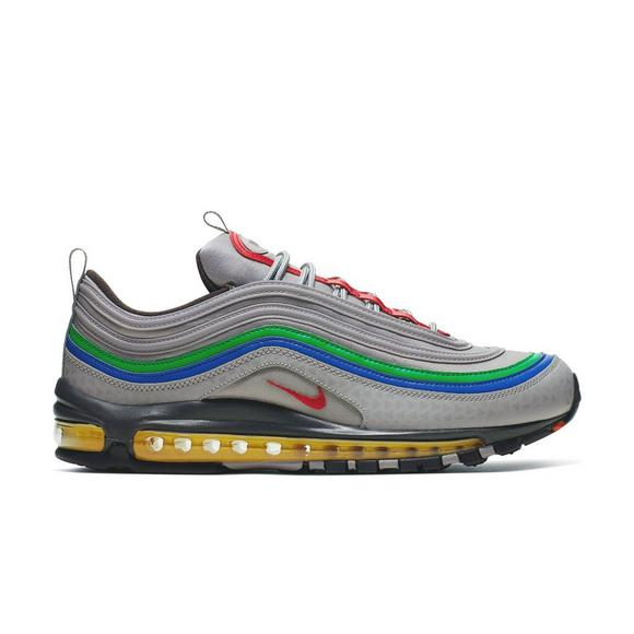 "Nike Air Max 97 ""Atmostphere Grey/Habanero Red"" Men's Shoes Nike Air Max 97 ""Atmostphere Grey/Habanero Red"" Men's Shoes by Hibbett"