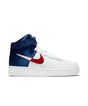 Nike Air Force 1 High 07 Lv8 White Rush Blue Men S Shoe