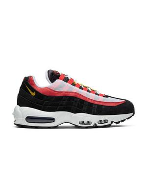 Nike Air Max 95 Chrome Yellow Black Crimson Men S Shoes