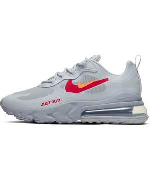 Nike Air Max 270 React Wolf Grey Hyper Crimson University Red