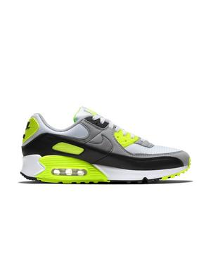 Nike Air Max 90 White Particle Grey Volt Black Men S Shoe Hibbett City Gear