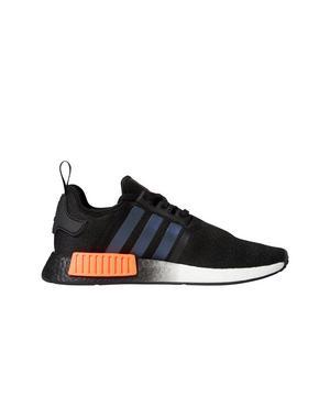 Adidas Nmd R1 Core Black Solar Orange Men S Shoe Hibbett