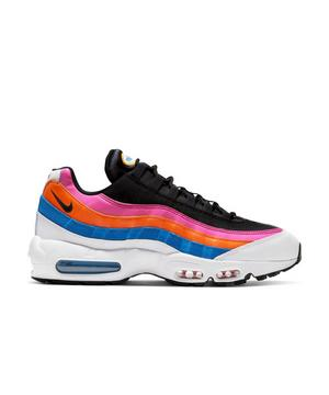 Nike Air Max 95 Club Fleece White Black Active Fuchsia Magma