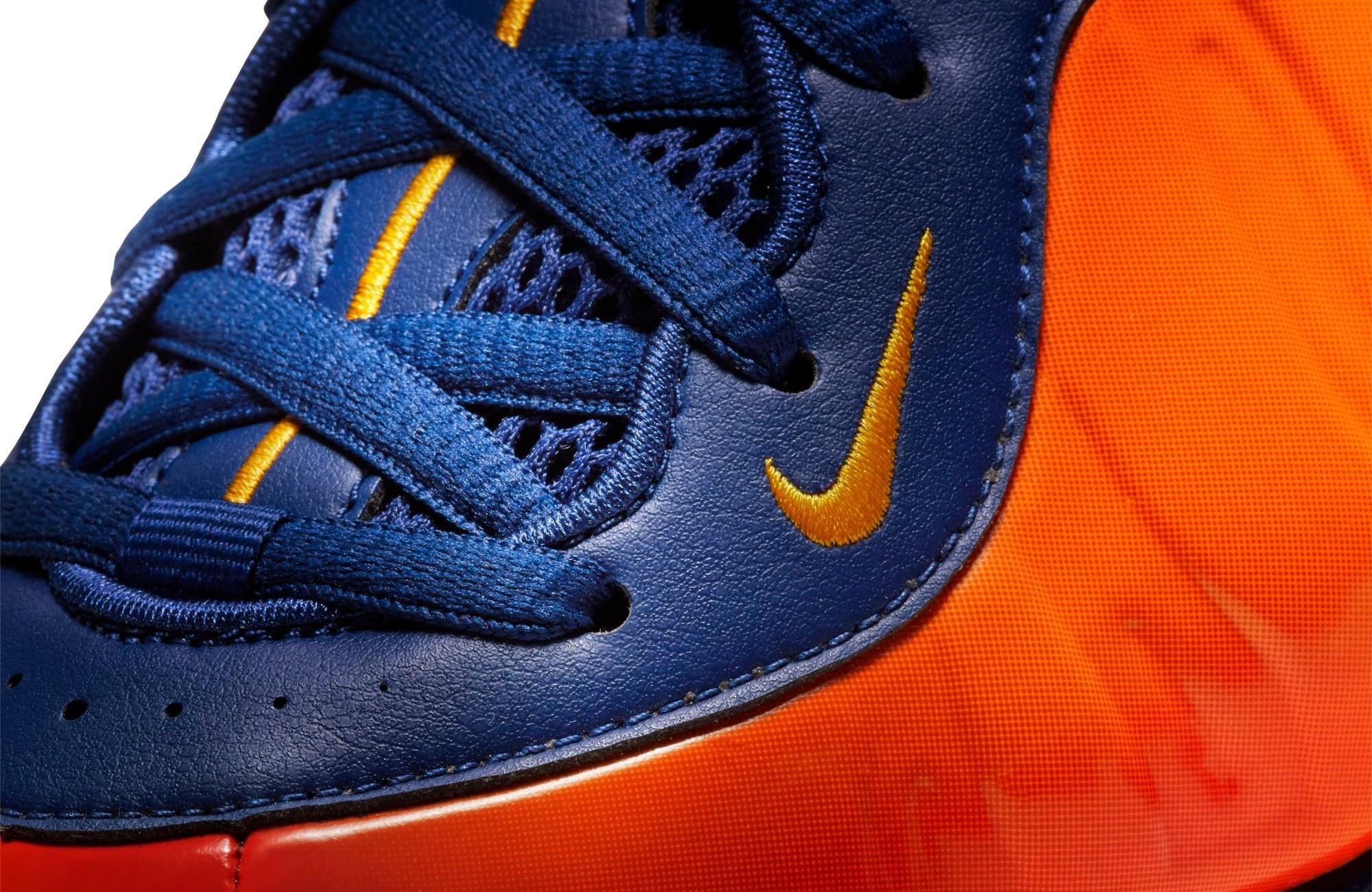 "Nike Air Foamposite 1 ""Rugged Orange"" Blue Void/University Gold Men's Shoe"